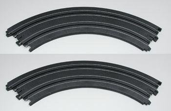 AFX 9 inch radius 90 degree curve track 70602