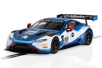 Scalextric Aston Martin Vantage GT3 Garage 59 2019 1:32 slot car C4100