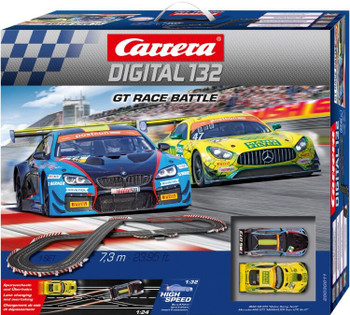 Carrera Digital 132 GT Race Battle race set outer box