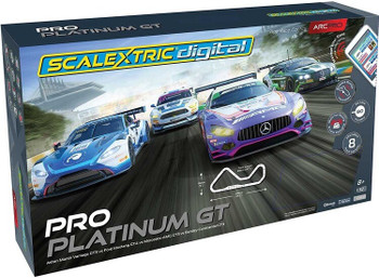 Scalextric Digital ARC PRO Platinum GT race set box C1413
