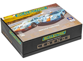 Scalextric Ford GT40 Gulf 1969 Limited Edition 1:32 slot car collector box