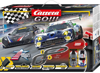 Carrera GO Onto the Podium 1/43 slot car set 20062521
