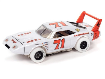 Auto World X-Traction 1969 Dodge Daytona Bobby Isaac iWheels HO slot car