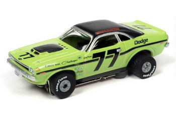 Auto World Thunderjet 1970 Dodge Challenger Sam Posey HO slot car