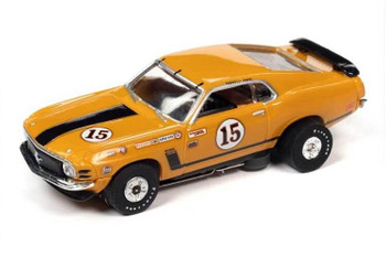 Auto World Thunderjet 1970 Ford Mustang Parnelli Jones HO slot car