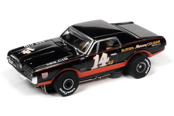 Auto World Thunderjet 1967 Mercury Cougar #14 HO slot car