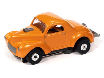 Auto World Thunderjet Ultra-G 1941 Willys Coupe Gasser orange HO slot car