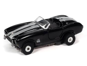 Auto World Thunderjet 1965 Shelby Cobra 427 S/C Roadster black HO slot car