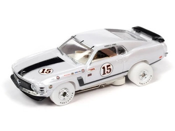 Auto World Thunderjet 1970 Ford Mustang Parnelli Jones iWheels HO slot car