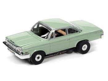 Auto World Thunderjet Ultra-G 1962 Chevy Bel Air green HO slot car