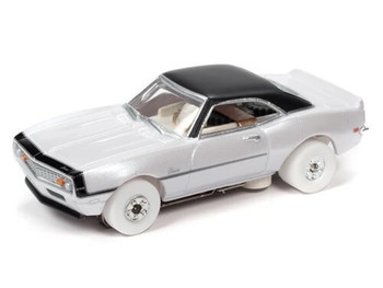 Auto World Thunderjet Ultra-G 1969 Chevy Camaro Nickey iWheels HO slot car