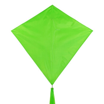 In The Breeze 30 inch Lime Colorfly diamond kite 3297