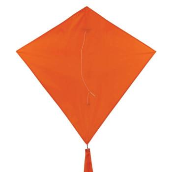 In The Breeze 30 inch Tangerine Colorfly diamond kite 3298