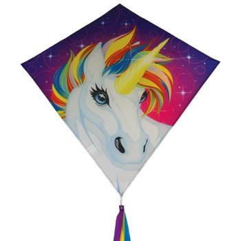 In The Breeze 30 inch Unicorn diamond kite 3259