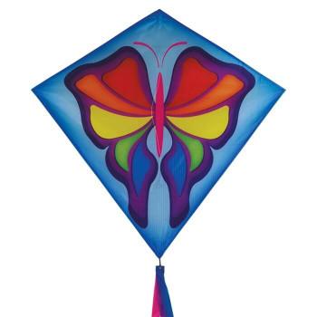 In The Breeze 30 inch Butterfly diamond kite 2907