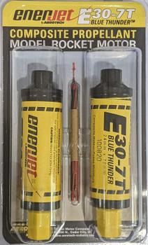 Enerjet by Aerotech E30-7T composite propellant model rocket motors 53007