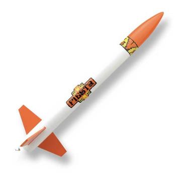 Custom Fiesta flying model rocket kit 10030