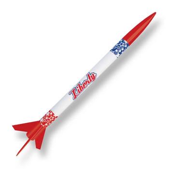 Custom Liberty flying model rocket kit 10045