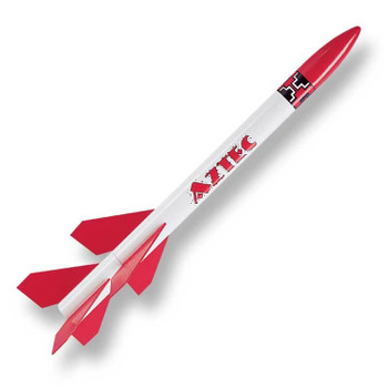 Custom Aztec flying model rocket kit 10026