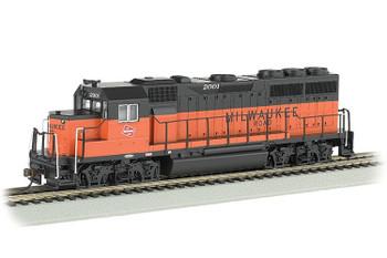 Bachmann EMD GP40 Milwaukee Road 2001 HO scale diesel locomotive 60308