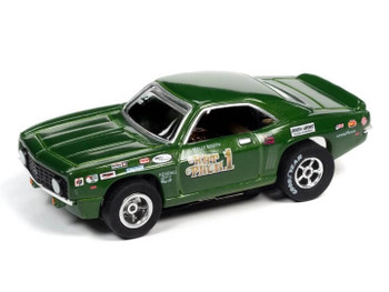 Auto World X-Traction 1969 Chevrolet Camaro Wally Booth Rat Pack HO slot car