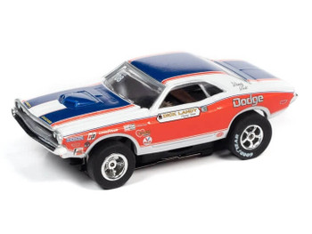 Auto World X-Traction 1971 Dodge Challenger Dick Landy HO slot car