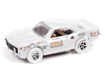 Auto World X-Traction 1969 Chevrolet Camaro Wally Booth Rat Pack iWheels HO slot car