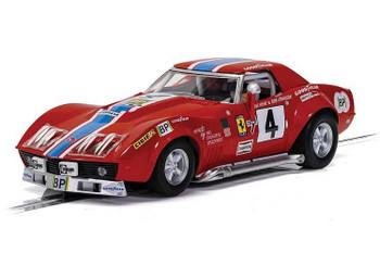 Scalextric Chevrolet Corvette L88 LeMans 1972 NART 1/32 slot car C4215