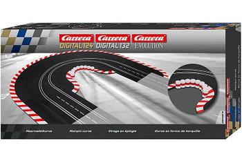 Carrera Digital 124 / Digital 132 / Evolution hairpin curve 20020613