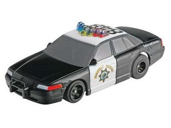 AFX Mega-G+ Highway Patrol HO slot car