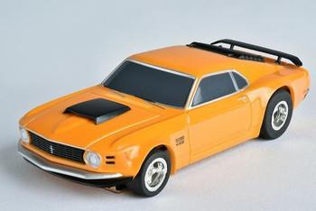 AFX Mega-G+ 1970 Ford Mustang Boss 429 HO scale slot car