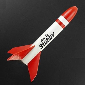 ASP Not So Stubby Model Rocket