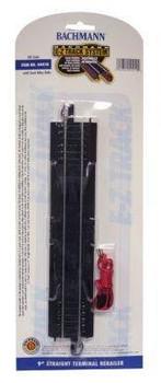 Bachmann 9 inch straight terminal rerailer HO scale E-Z Track 44410
