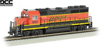Bachmann EMD GP40 BNSF 3002 HO scale diesel locomotive