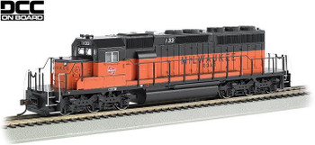 Bachmann EMD SD40-2 Milwaukee Road 133 HO scale diesel locomotive