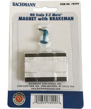 Bachmann HO Scale E-Z magnet w/ brakeman 78999