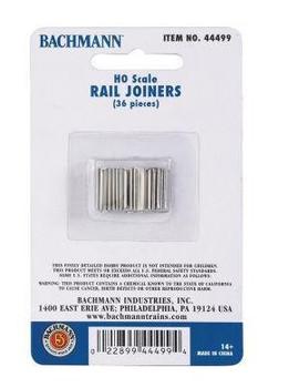 Bachmann HO scale rail joiners (36) 44499