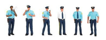 Bachmann Scene Scapes police squad HO scale figures 33104