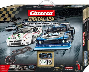 Carrera DIGITAL 124 Youngtimer Showdown race set box