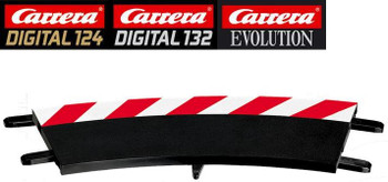 Carrera 1/30 degree curve outside shoulder 20020567
