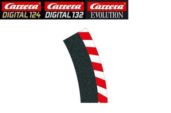 Carrera 1/30 degree high banked curve outside shoulder 20564