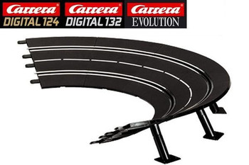 Carrera 1/30° high banked curve track 20020574
