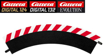 Carrera 1/60 degree curve outside shoulders 20561