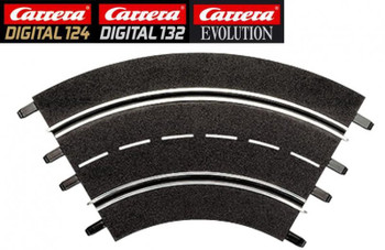 Carrera 1/60 degree curve track 20571