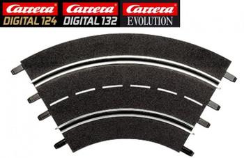 Carrera 1/60 degree curve track 20571
