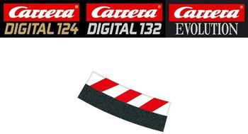 Carrera 4/15 degree curve inside shoulder