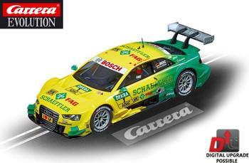 Carrera Evolution Audi A5 DTM Rockenfeller 1/32 slot car