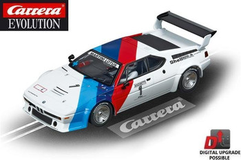 Carrera Evolution BMW M1 Procar 1/32 slot car 20027560