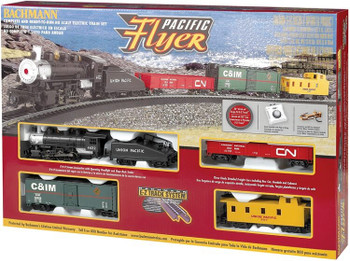 Bachmann Pacific Flyer HO scale train set box 00692