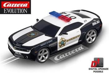 Carrera Evolution Chevrolet Camaro Sheriff 1/32 slot car 20027523